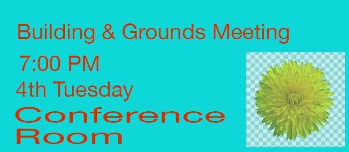 Building & Grounds Meeting